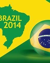 サッカーワールドカップ2014を満喫できる企業の社内制度の画像