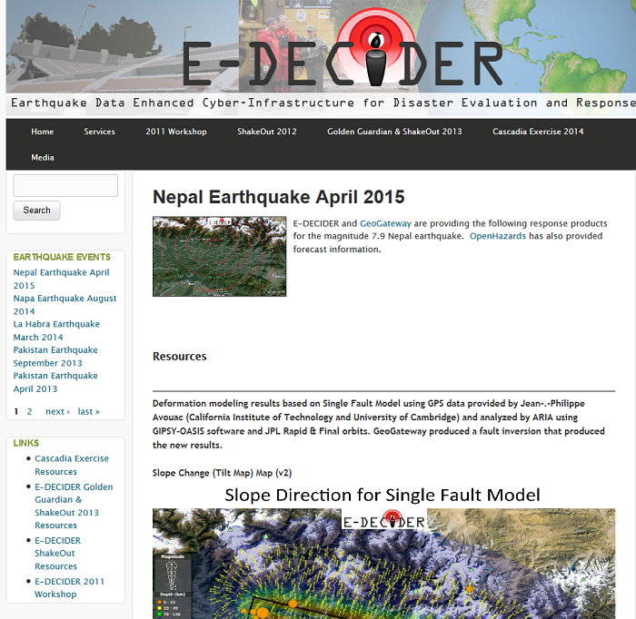 Nepal Earthquake April 2015  e-decider.org