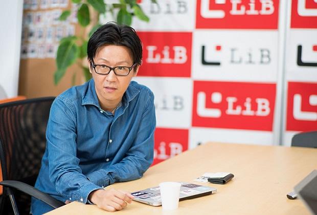 株式会社LiB 松本 洋介氏のトップ画像