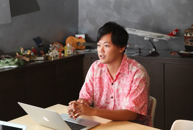 株式会社 trippiece 石田 言行氏のトップ画像