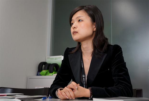 株式会社ブリヂストン 金 楊淑(キム ヤンス)氏のトップ画像