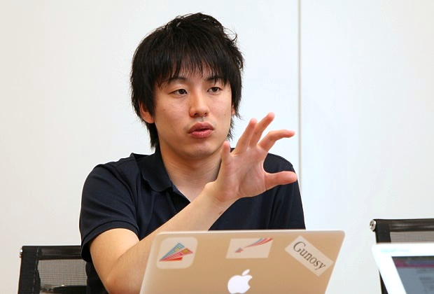 株式会社Gunosy 福島 良典氏のトップ画像