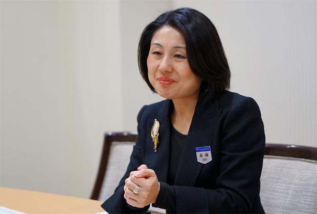 株式会社京王プラザホテル 斎藤 潤子氏のトップ画像