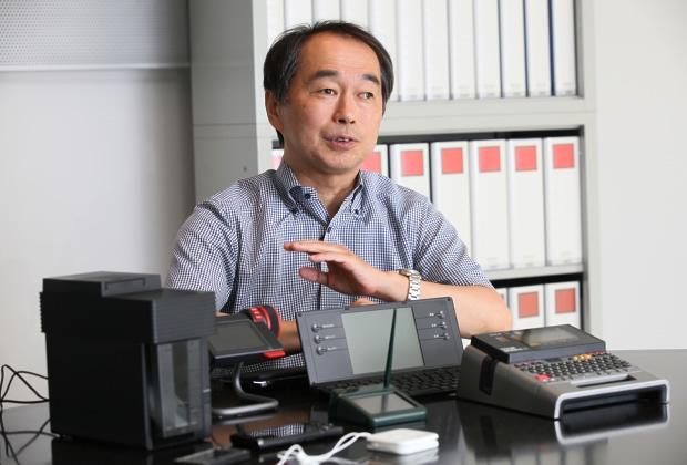 株式会社キングジム 亀田 登信氏のトップ画像