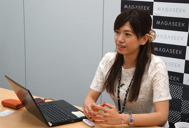 マガシーク株式会社 田尻 有賀里氏のトップ画像