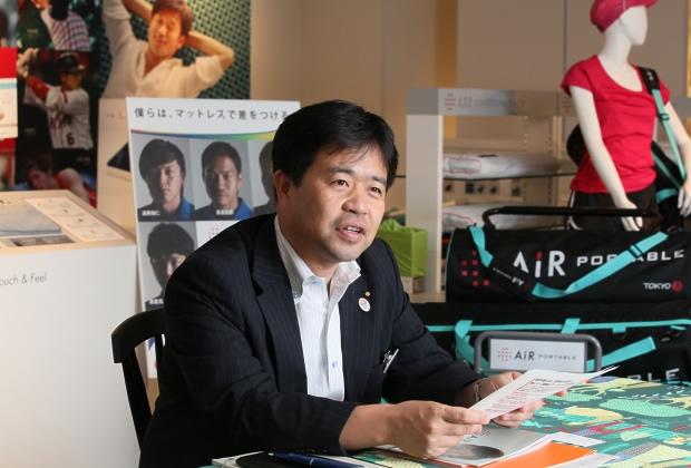 西川産業株式会社 竹内 雅彦氏のトップ画像