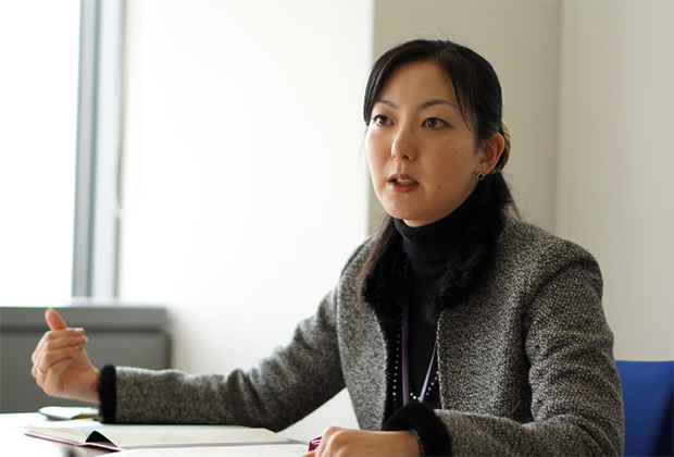 ジュピターショップチャンネル株式会社 勝賀瀬 鮎美氏のトップ画像