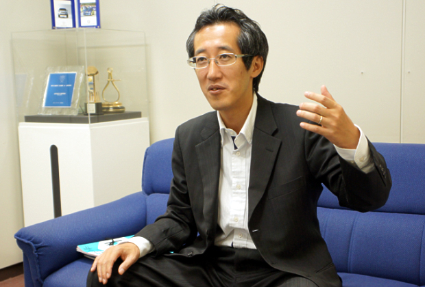 富士重工業株式会社 増田 茂純氏のトップ画像