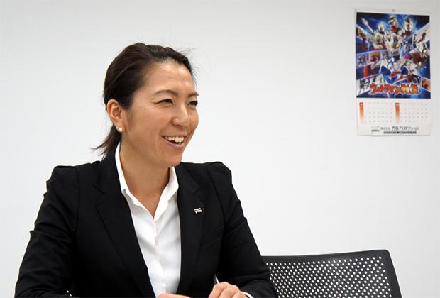 株式会社円谷プロダクション 北澤 淳子氏のトップ画像