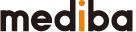 株式会社medibaのロゴ画像