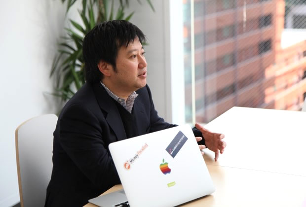 株式会社マネーフォワード 辻 庸介氏のトップ画像