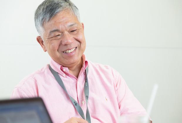 朝日新聞 勝田敏彦氏のトップ画像